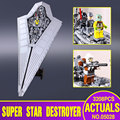 2016 Nueva Lepin 05028 Star Wars Execytor Super Star Destroyer Modelo Kit de Construcción de Bloque De Ladrillos De Juguete de Regalo Compatible