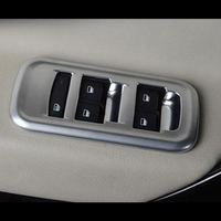 For MG GS 2015 2016 2017 accessories car styling ABS Chrome Door Window glass Lift Control Switch Panel Cover Trim