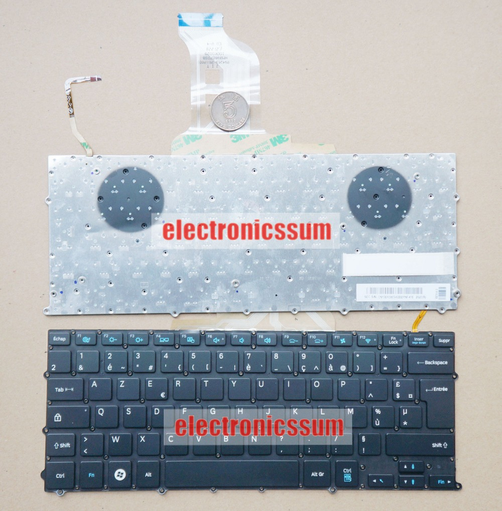 New notebook Laptop keyboard for Samsung NP900x3b NP900X3C NP900X3D French/Fr  layout new laptop keyboard for asus 0kn80 1120fr00 black windows 8 french layout