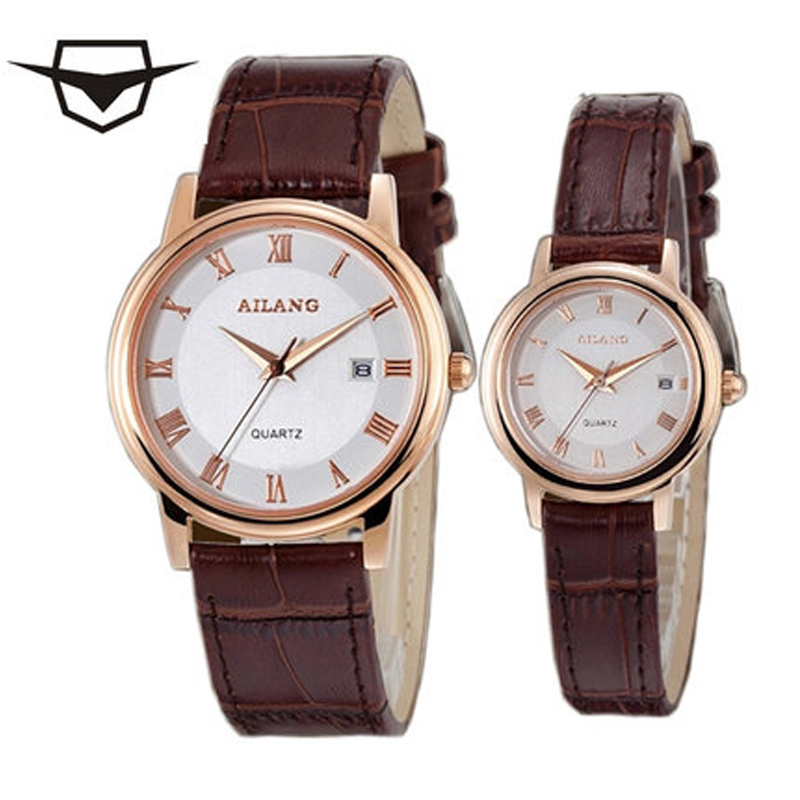 Lovers Fashion Design Watches Couple Dress Casual Leather Watches Waterproof Watches Women's Men's Sport Watch Lovers Men's Watc lovers watch fashion design couple dress wristwatch casual leather waterproof watches male women sport clock lovers watch men