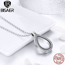 Authentic 100% 925 Sterling Silver Vivid Animal Power Box Petite Memories Long Chain Necklace Floating Locket Necklace Jewelry(China)