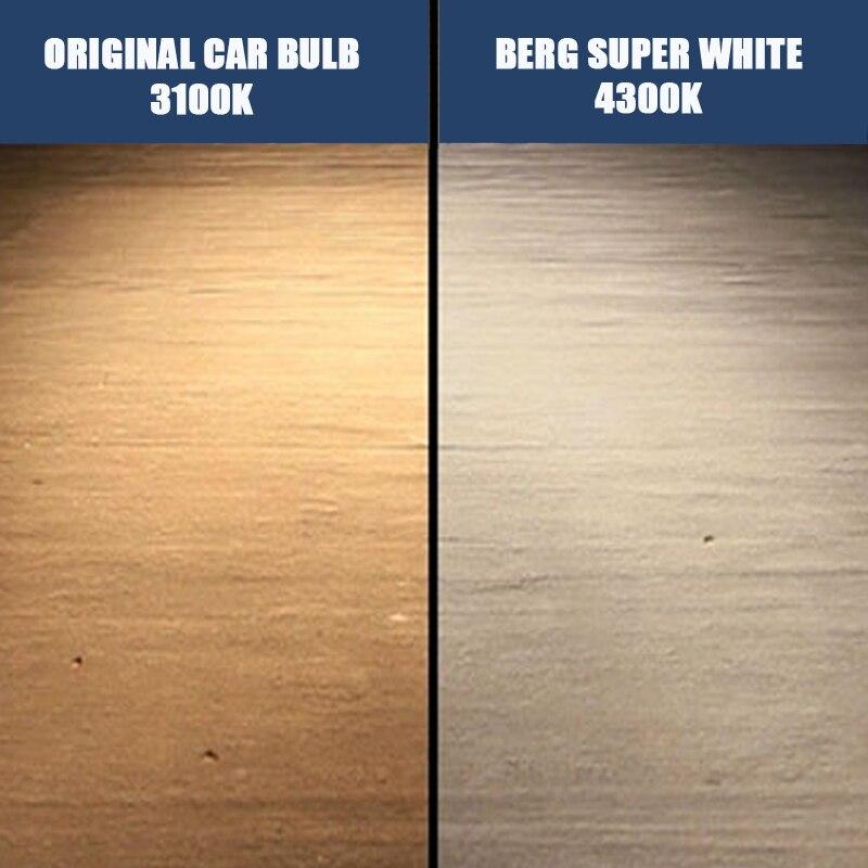 2 шт. H3 галогенные лампы Ксеноновые 4300 К 12 В 55 Вт супер белый кварцевый Стекло PK22s автомобиля фары Противотуманные фары лампы для автомобилей
