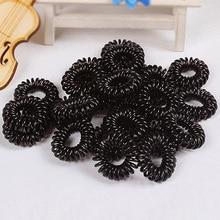 Hot 10Pcs Girls Elastic Rubber Hair Ties Band Rope Ponytail Holder Bracelets Scrunchie  7FPF