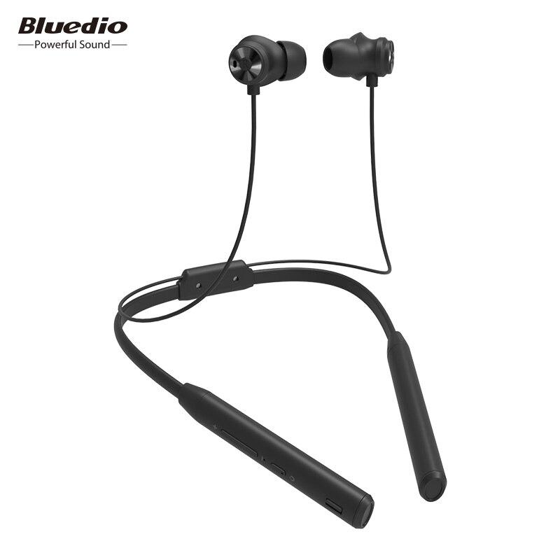 TN2 Bluedio Bluetooth Esportes fone de ouvido com cancelamento de ruído ativo/fone de Ouvido Sem Fio para telefones e música
