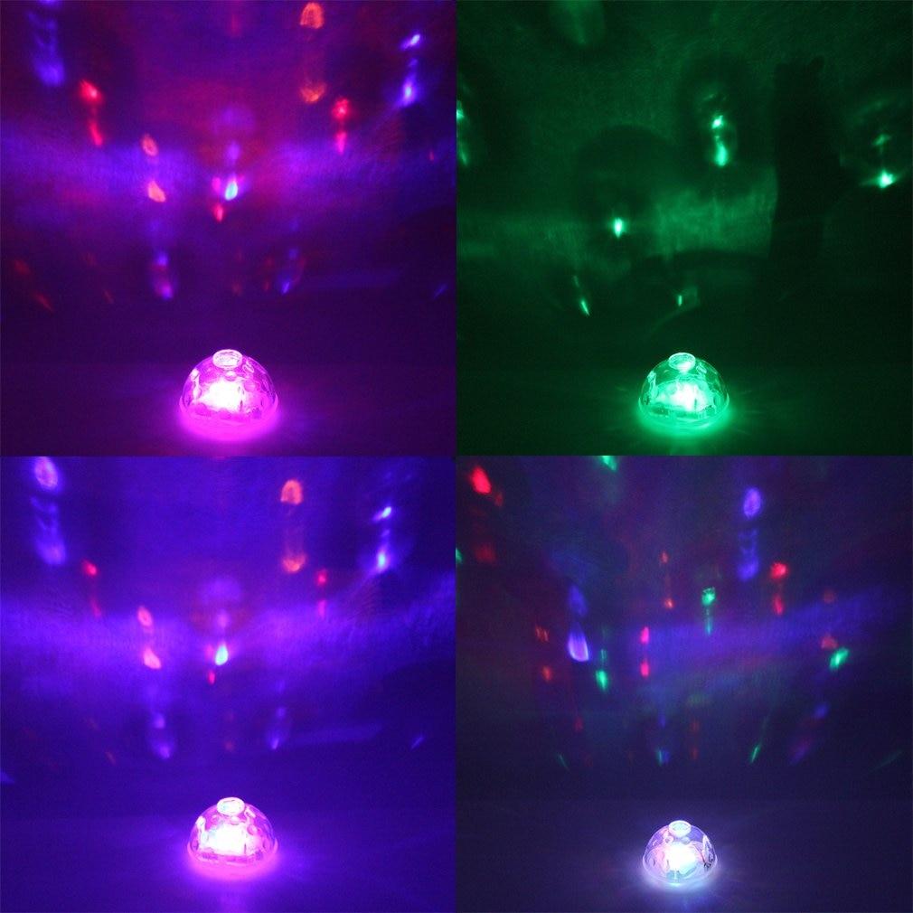 ICOCO Waterproof Fantastic Underwater LED Glow Light Show Pond Pool Spa Bath Floating Lamp For Disco Party DJ Aquarium Decor