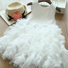 цены Pudcoco Summer Toddler Infant Baby Kids Girl Flower Dress Lace Tutu Party Gown Pageant Sundress