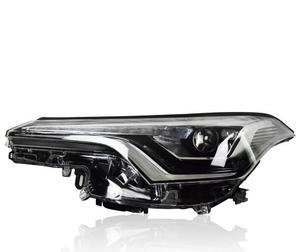 Image 5 - Wideo 1 sztuk światło na zderzak dla CHR lampa czołowa 2017 2018 2019 C HR reflektor led, akcesoria samochodowe, rush, przednie światła CHR, naklejki samochodowe, C HR