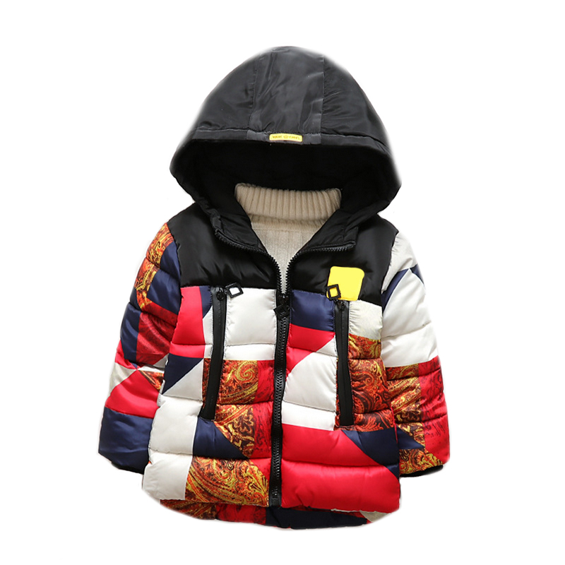 2017 New Boys Jacket winter jackets thickening down coat children Boy kids clothes coats korean 2-8 year fashion birthday children winter coats jacket baby boys warm outerwear thickening outdoors kids snow proof coat parkas cotton padded clothes