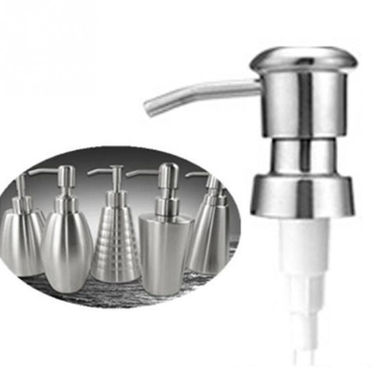 Kitchen Sink Hand Soap Dispenser: 2.5 Cm Stainless Steel Soap Pump With Extension Tube