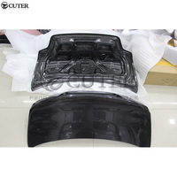 E82 1 series 1M Coupe car Full Carbon Fiber Auto Car Rear Trunk cover hood for BMW E82 1M CLS style body kit 07 14