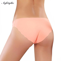 Free Shipping Women Briefs Seamless Panties Candy Color Sexy Panties Low Waist Intimates 3pcs Lot S