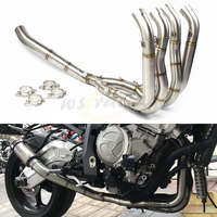 Motorcycle Stainless Steel Exhaust Pipe Front Section For BMW S1000RR 2010 2011 2012 2013 2014 2015 2016 2017 2018
