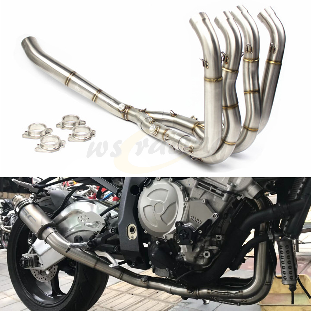 Motorcycle Stainless Steel Exhaust Pipe Front Section For