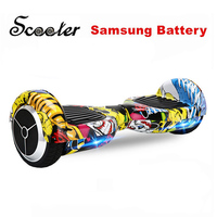 6 5 Inch Electric Scooter 2 Wheel Balance Hoverboard With Samsung Battery Self Balancing Scooter Bluetooth