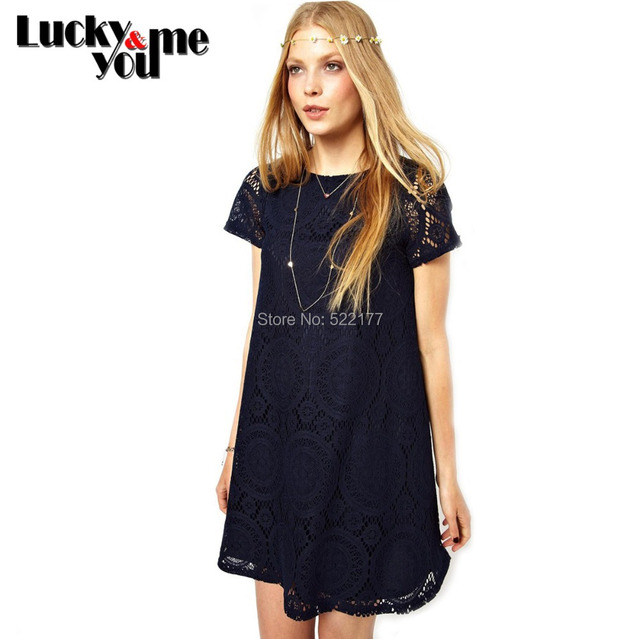 2015 Spring Autumn Women New Fashion Vintage Bohemian Lace Plus Size Black White Dress Party Evening Elegant Club Midi Vestidos