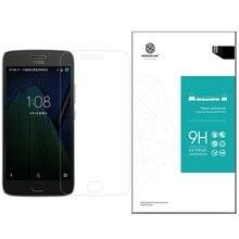 Для Moto G5 плюс стекло протектор экрана 5.2 «Nillkin закаленное стекло экрана протектор для lenovo мото g5 плюс из японии стекла