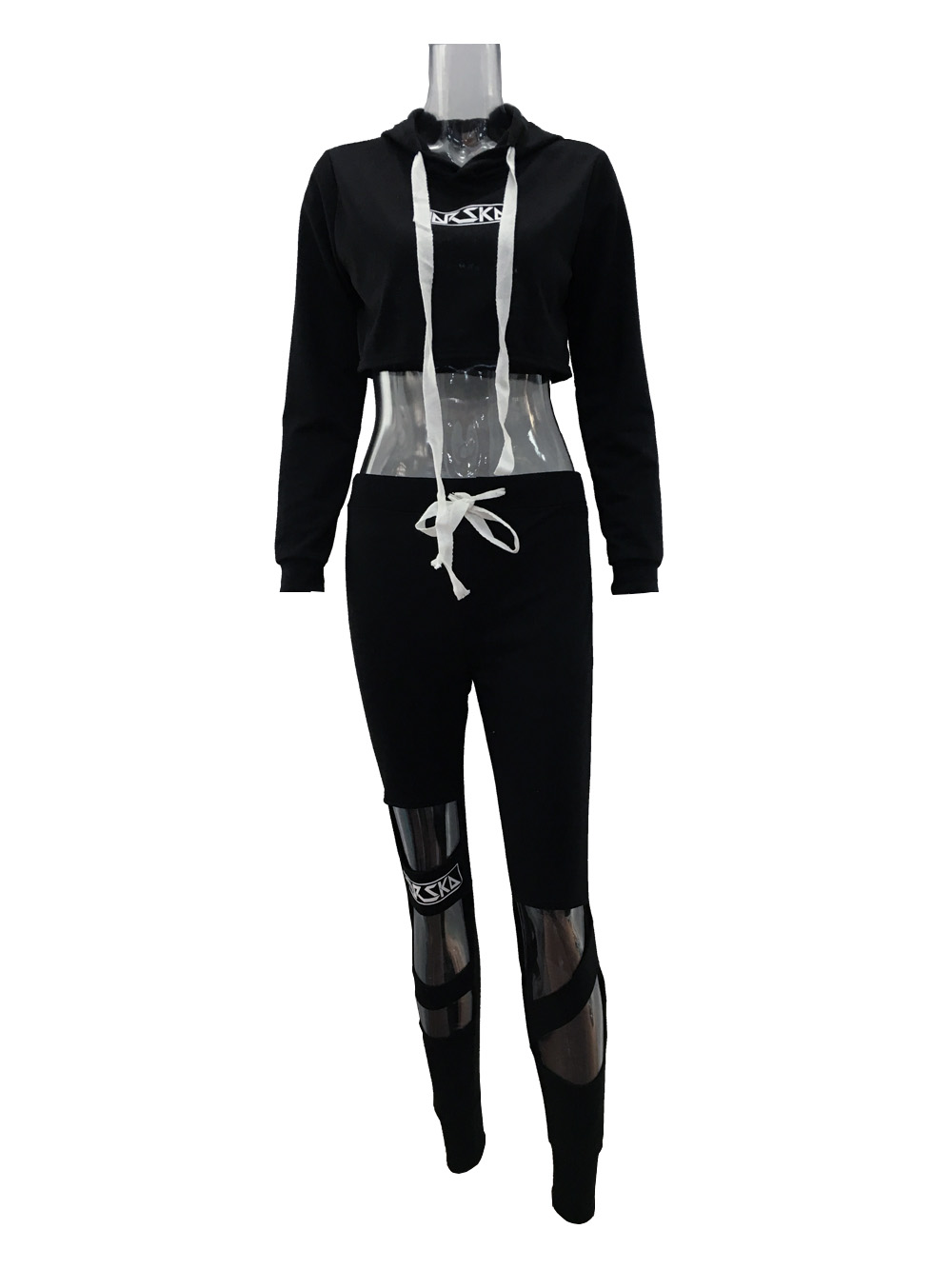2017 Two Piece Set Tracksuit Camouflage Sexy Sleeveless Sweatsuits For Women Sets Cropped Survetement femme military 1