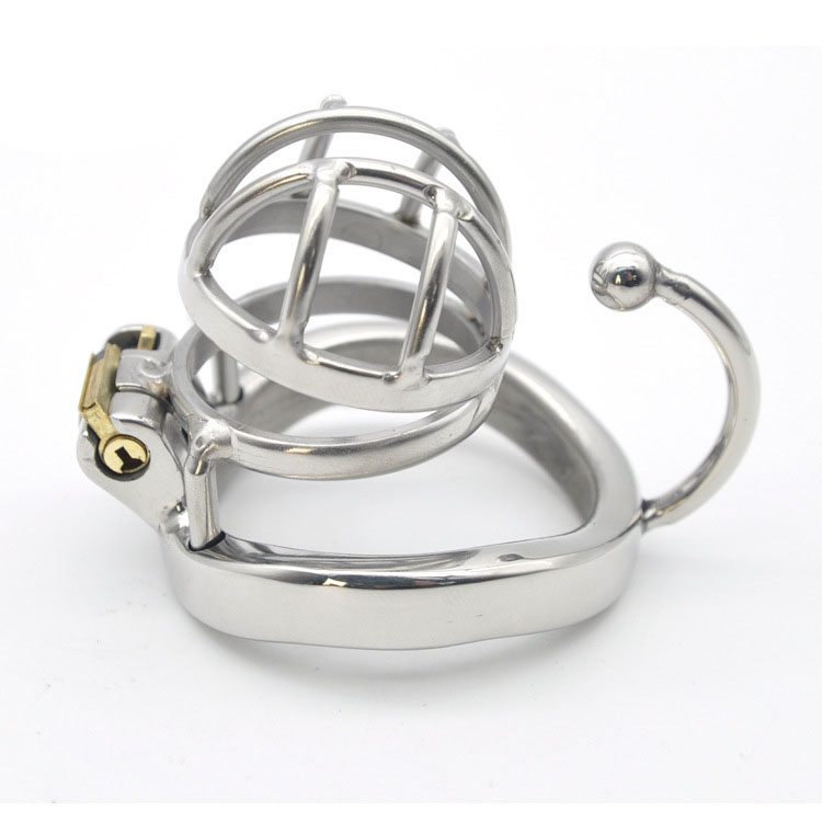 New Arrival Super Small Male Chastity Device Sex Toys For Men Cock Cage With -8936