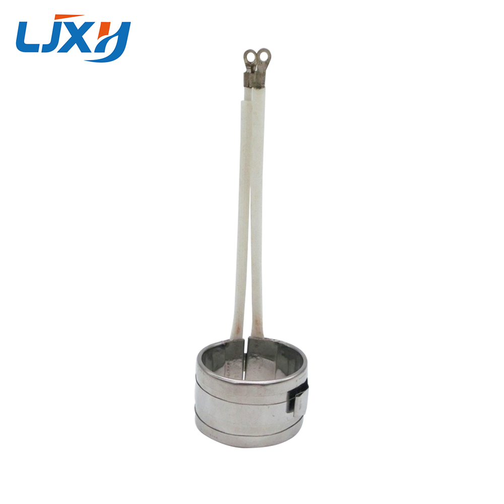 LJXH Stainless Band Heater 35mm height 220V Inner Dia.38mm/50mm/80mm/100mm 150W/200W/250W/300W for Tin Stove Heater 1PC free shipping 3 pc ac 220v 150w 150 watt stainless steel electric band heater 50mm x 30mm customized
