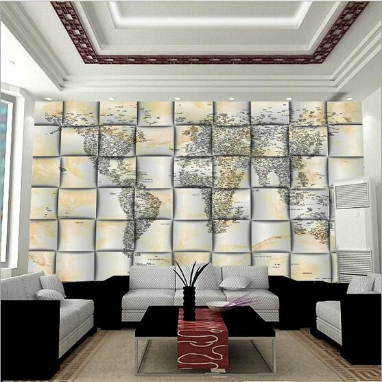 2015 1 sq m custom 3d no tejido pvc foto ikea papel pintado fresco mapa del mundo conciso - Papel paredes ikea ...