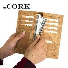 Portemonnaie aus Naturkork Portemonnaie für Frauen vegan Portemonnaie Kartenhalter Kork-Leder, Geld-Clips shandmade aus Portugal Bag-258