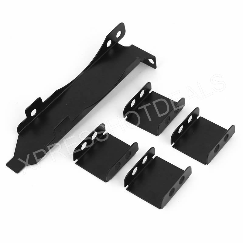 3 Fan Mount Rack PCI Slot Bracket+20 Screw+4Connector For Video GPU Card Cooler;