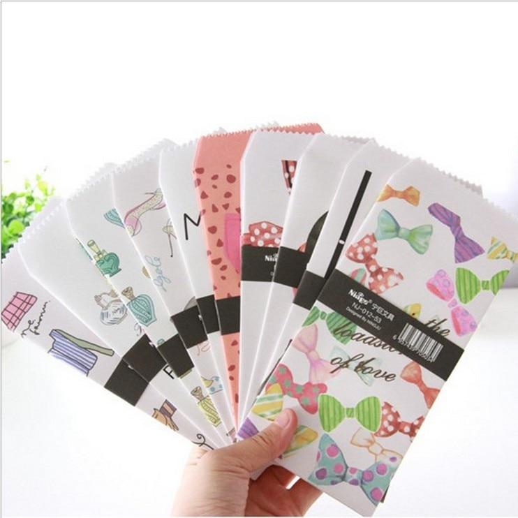 Post- & Versandmaterialien 150 Teile/los Papier Umschlag Moderne Bogen Muster Sobres Papel/einladung Umschlag Gilt Dekoriert/whloesale Papierumschläge