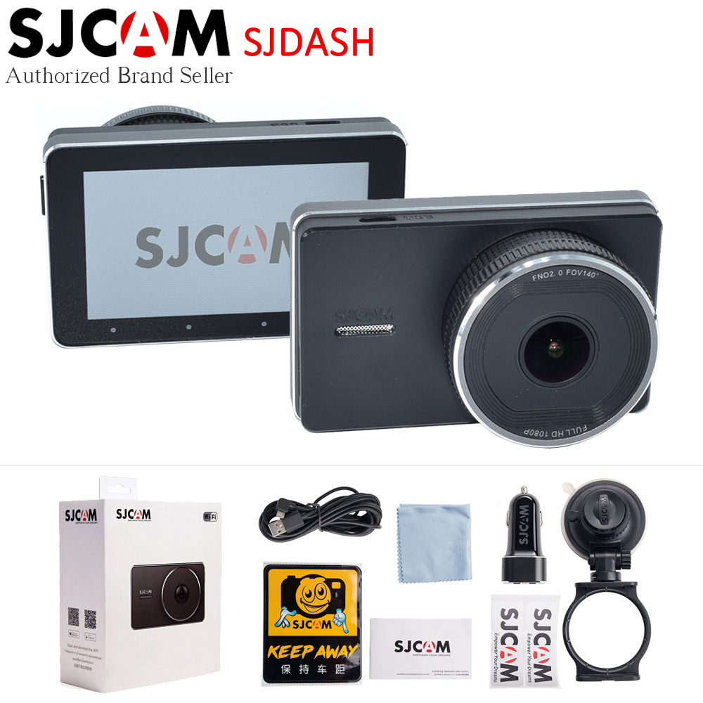 Original SJCAM SJDash Black Color Night Vision 1080P SJ Dash M30 Camera 140 Degree 3.0 Inch Screen Wifi Vehicle Camcorder DVR
