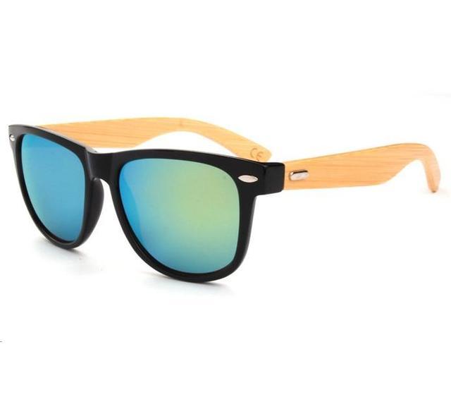 fb8e49e1c M14 Wholesale Price Bamboo Foot Sunglasses Men Wooden Sunglasses Women  Brand Designer Original Wood Sun Glasses 2016 Hot