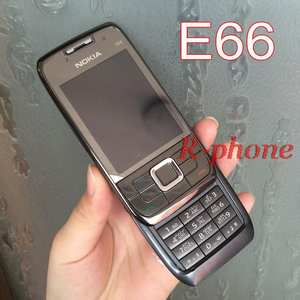 Nokia E66 Russian Keyboard Refurbished Mobile Phone 2G 3G Unlocked Hebrew Arabic