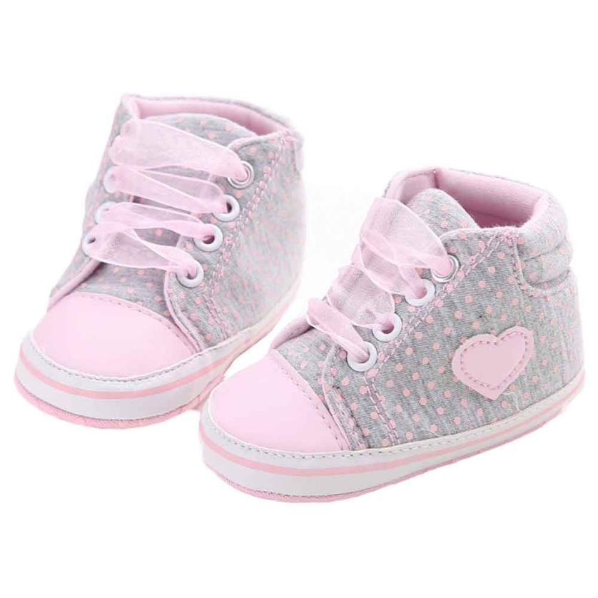 2018 Cute Girl Canvas Shoe Baby Boys Shoes Sneaker Anti-slip Soft Sole Toddler For Baby G1207