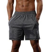 Mens Athletic Gym Shorts Run Jogging Sports Fitness Bodybuilding Sweatpants Male Profession Workout Training Short Pants