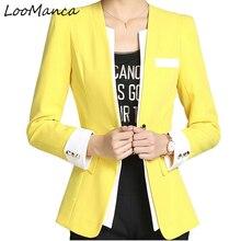 Plus Size 5XL 6XL Women blazers and Jackets Ladies Blaser Feminino 2018 New Spring Autumn Coat Feminine Female Work To Wear