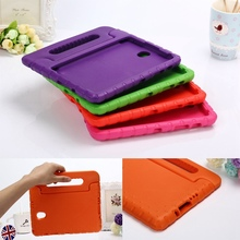 Case voor Samsung Galaxy Tab 8.4 S/T700/T705 hand-held Shock Proof EVA full body cover kids Kinderen Silicone para shell coque(China)