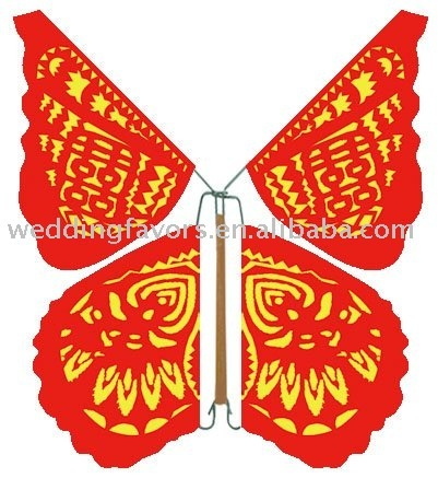 Free shipping(mix colours and designs) (50pcs/bag) The only one Shop sell this Unique automatic special fly butterfly