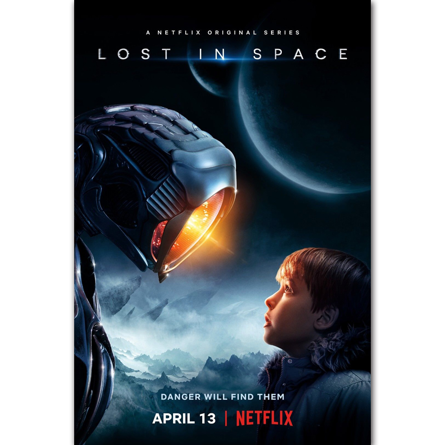 MQ3507 Lost In Space Movie 2018 Irwin Allen Netflix Film ...