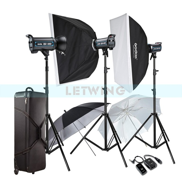 Godox 3X 400W Professional Studio Strobe Flash Light Photography Lighting Kit For Wedding Fashion Advertisement  sc 1 st  AliExpress.com & Godox 3X 400W Professional Studio Strobe Flash Light Photography ...