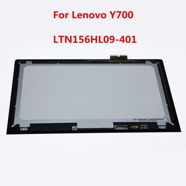 "15.6 ""Сенсорный ЖК-Экран Замена Тяга Для Lenovo Ideapad Y700 15ISK 80NW NV156FHM-A12 LTN156HL09-401 Бесплатная Доставка"