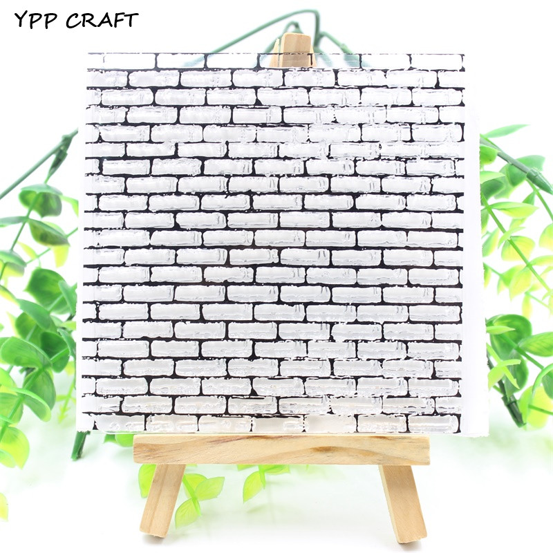 YPP CRAFT Wall Transparent Clear Silicone Stamps for DIY Scrapbooking/Card Making/Kids Fun Decoration Supplies