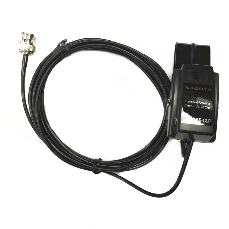 Original Nagoya Interphone Antenna Window Clamp RB-CLP Applicable To Q9 Head  BNC For ICOM V8 V82