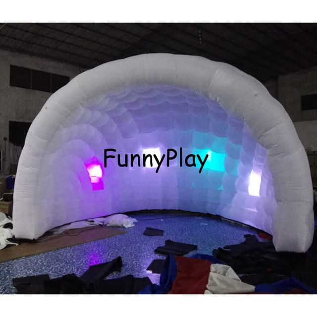 inflatable igloo tent shelter for yard saleLarge Inflatable Party Tentspop up led lighting outdoor inflatable dome tent  sc 1 st  Aliexpress & Online Shop inflatable igloo tent shelter for yard saleLarge ...