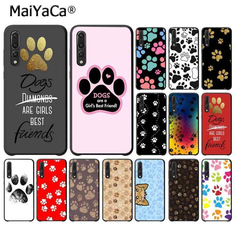 MaiYaCa الكلاب هي الفتيات أفضل الأصدقاء الكلب مخلب الهاتف حافظة لهاتف huawei P20Lite P10 زائد Mate9 10 Mate10 لايت P20 برو Honor10 view10