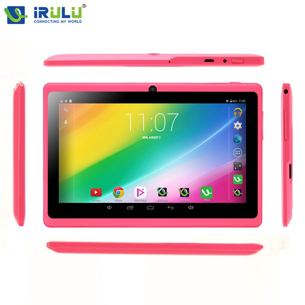 iRULU eXpro X3 7 1024 600 IPS Tablet Android 6 0 1G 16G Quad Core