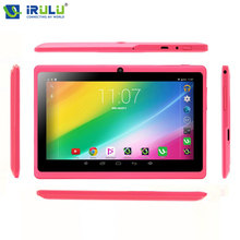 "EXpro X3 7 ""1024*600 IPS de la Tableta iRULU Android 6.0 1G/16G Quad Core Tablet PC de Doble Cámara Bluetooth WiFi Con GMS certificación"