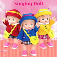 25cm Lovely Suit Mellchan Baby Doll Clothes Accessories with Music Pretending To Play with Toys Gift