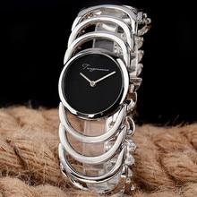 New Luxury Brand Women Quartz Watches montre femme Gold /Sliver Bracelet Watches Ladies Women Watch reloj muje Clock