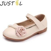 Весенняя Новинка; стильная модная тонкая обувь для девочек; детская обувь принцессы; детская обувь для отдыха с милыми цветами; Размеры 26-35