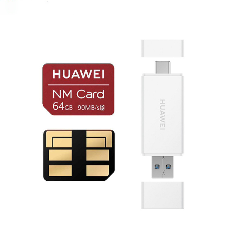 NM Card 90MB/s 64GB/128GB/256GB Apply to Mate20 Pro Mate20 X P30 With USB3.1 Gen 1 Nano Memory Card Reader 3
