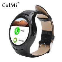 Colmi Bluetooth Android Smart Uhr VS90 Wifi GPS Schieben APP Wetter Erinnerung Herzfrequenzmesser Für Android Phone Smartwatch