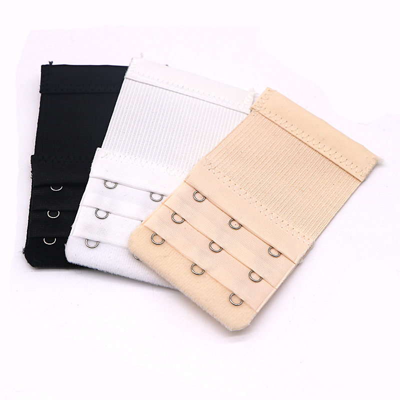 809d046476a72 5Pcs Bra Extender Elastic 3 Hook 3 row Soft Bra Extension Strap Underwear  Strapless Bra Band Extenders Replacement Accessories-in intimates   accessories ...